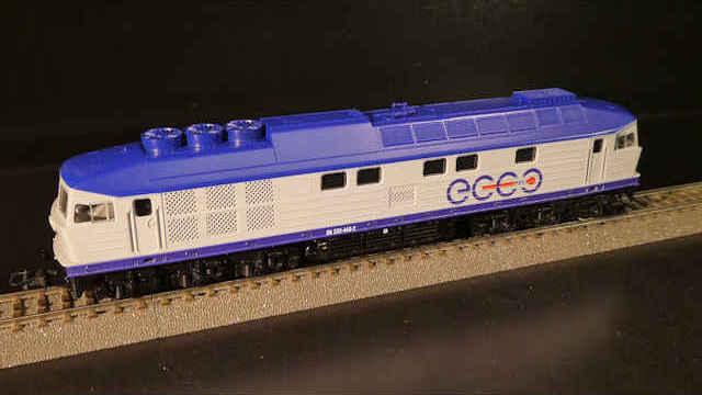 Diesellokomotive BR 232 Ecco Rail