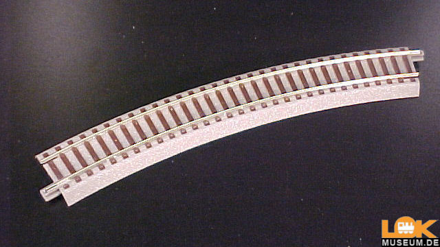Gebogenes Gleis R3 geoLine