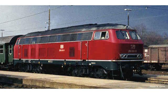 Diesellokomotive BR 215 der DB