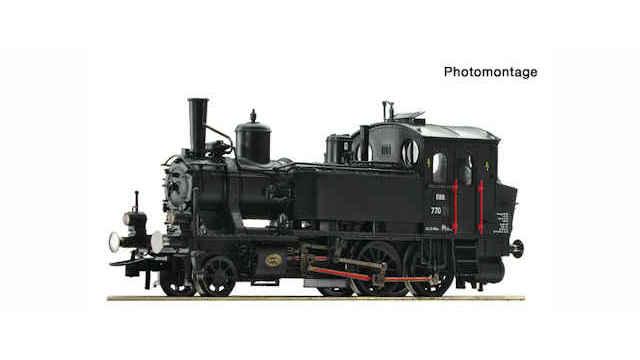 Dampflokomotive Rh 770 der ÖBB
