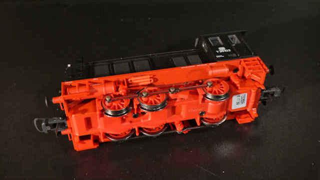 Diesellokomotive V 36 der DB
