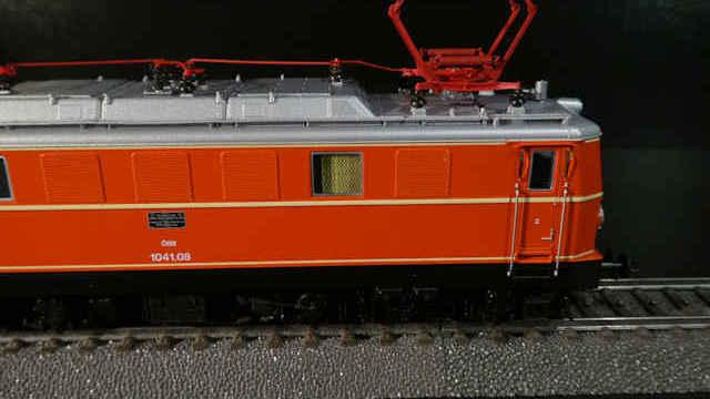 Elektrolokomotive Rh 1041 der ÖBB