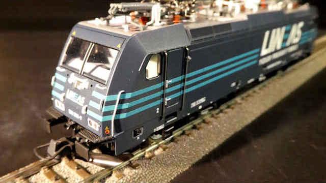 Elektrolokomotive BR 186 der Lineas