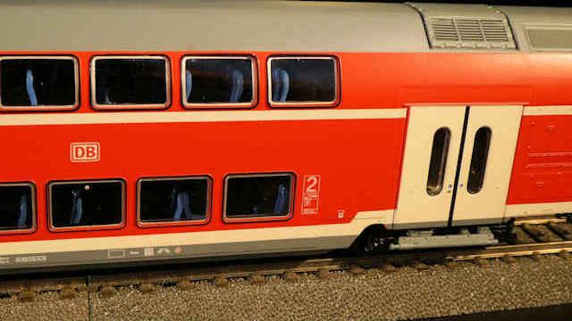 Doppelstockwagen der DB AG