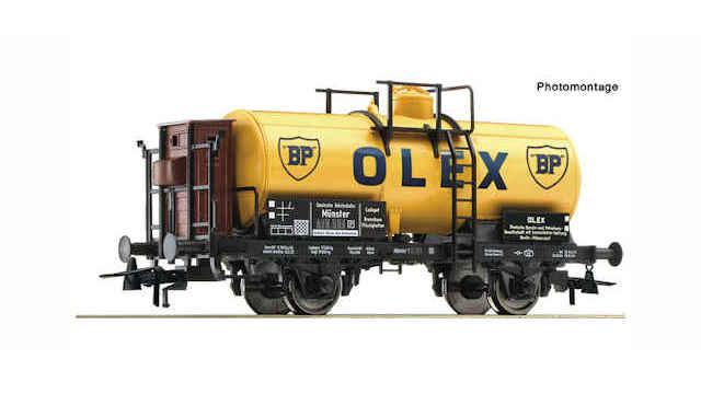 Kesselwagen BP der DRG