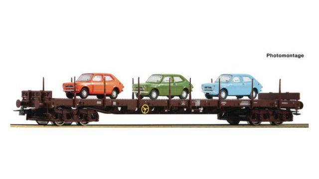 Rungenwagen der ÖBB
