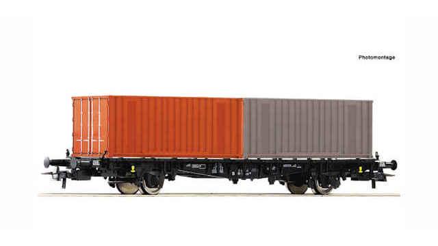 Containertragwagen der DR