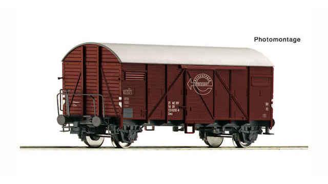 Gedeckter Güterwagen der DR