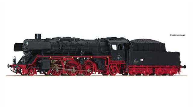 Dampflokomotive BR 23 der DR