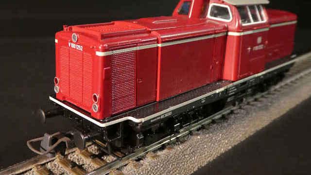 Diesellokomotive BR V 100 der DB