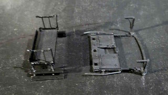 Zubehör-Set Bühne Geländer
