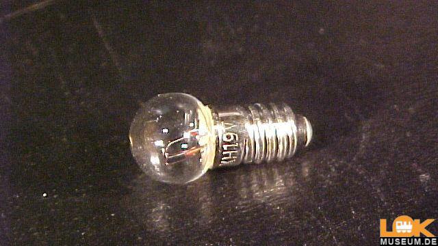 Ersatzlampe E 5,5 K8 19V 60mA