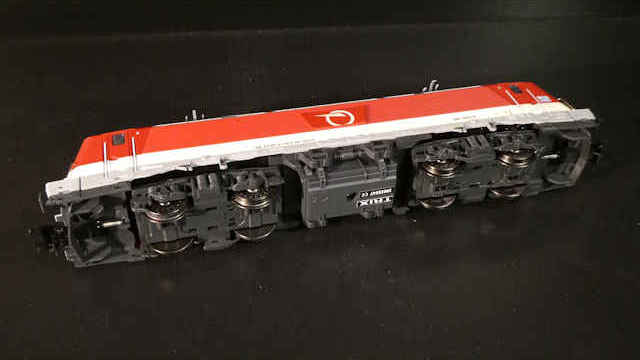 Elektrolokomotive BR 381 der ZSSK