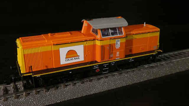 Diesellokomotive Baureihe 212 Colas Rail