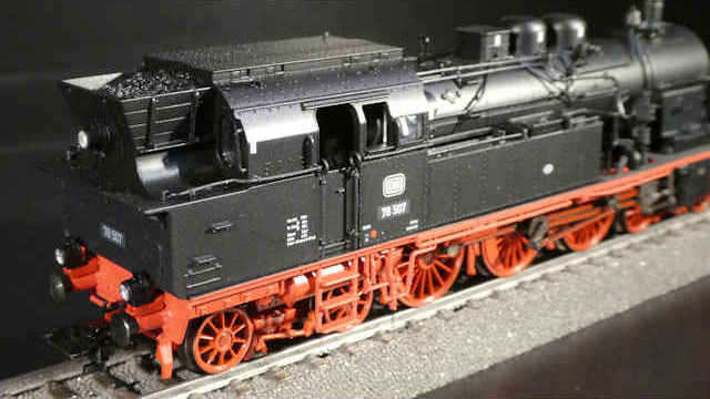 Dampflokomotive BR 78 der DB