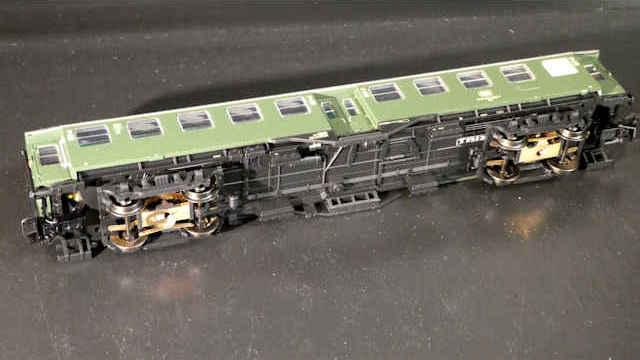 Trix 23492 Personenwagen 2 Spur H0 Klasse der DB