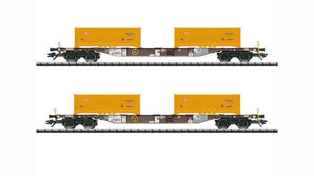 Containertragwagen-Set Erdaushub Stuttgart 21