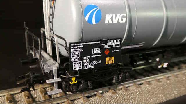 Kesselwagen Zans der KVG