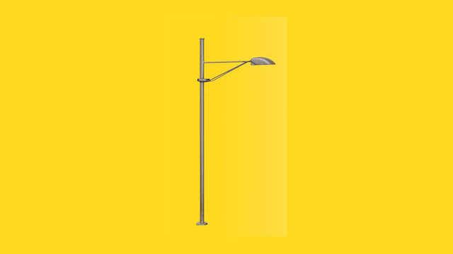 Leuchte Busbahnhof Halle/Saale LED warmweiß