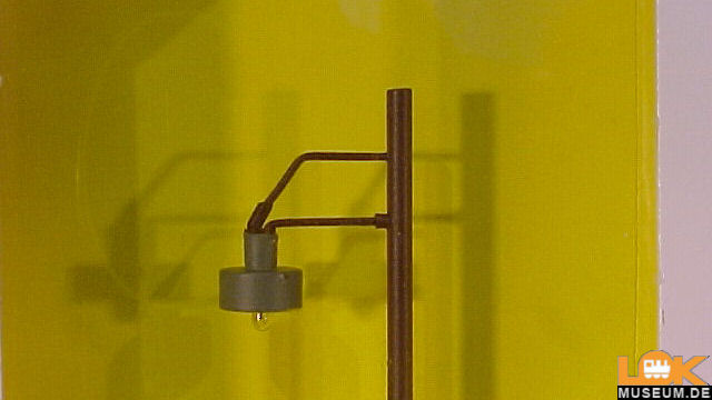 Holzmastleuchte Höhe 90 mm