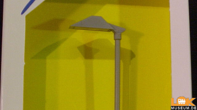 Moderne Bahnsteigleuchte LED weiß
