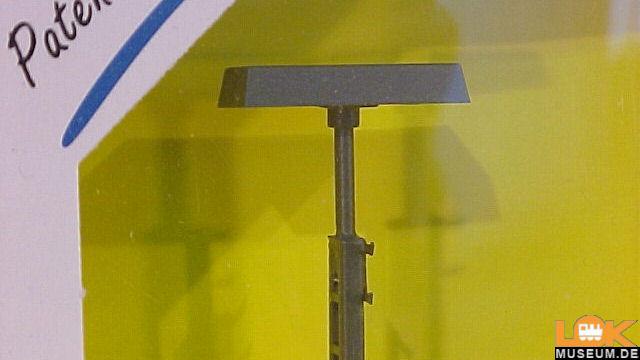 Gittermastleuchte Höhe 124 mm LED
