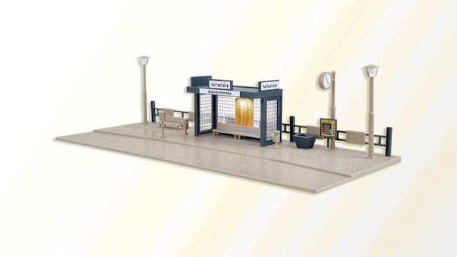 Bushaltestelle mit LED