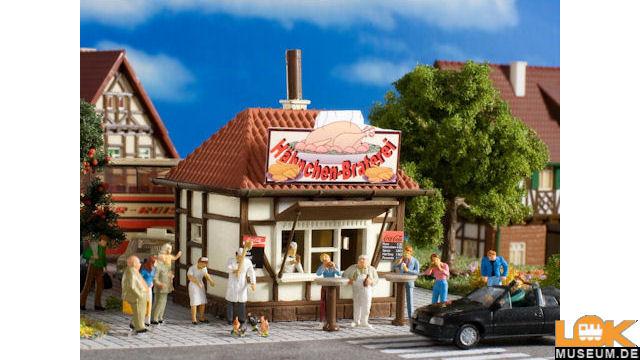 Kiosk Hühner Hugo