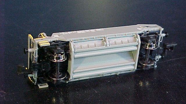 3tlg. Schotterwagen-Set der SBB
