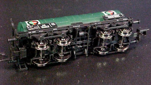 Kesselwagen Neragol der DB