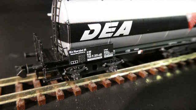 Kesselwagen DEA der DB