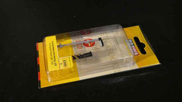 Aufsatzleuchte kantig LED Stecksockel