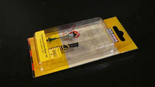 Gaslaterne mit LED Stecksockel
