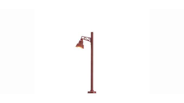 Holzmastleuchte Stecksockel mit LED