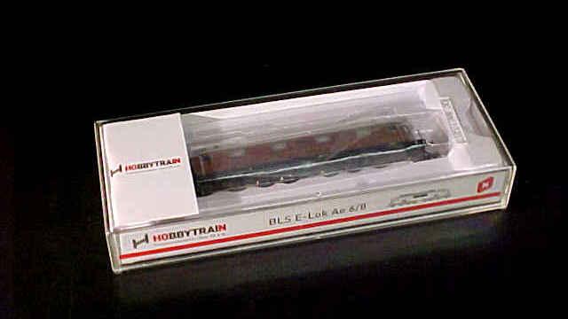 BLS Ae 6/8 8-achsig E-Lok braun SBB 205