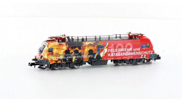 E-Lok BR1016 ÖBB Feuerwehr Ep.VI