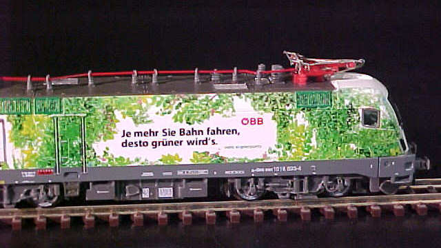 E-Lok BR1016 ÖBB Green Point Ep.V