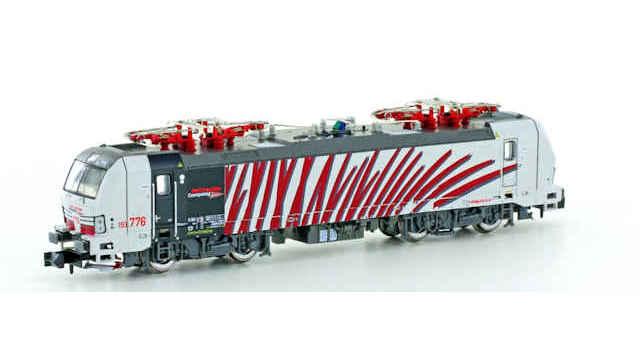 E-Lok BR193 Vectron Lokomotion Red Zebra