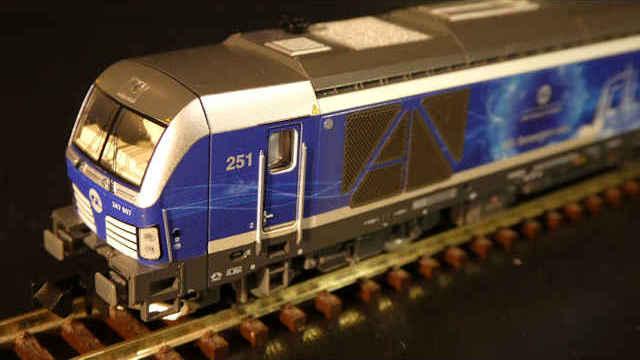 Diesellokomotive BR247 Vectron DE InfraLeuna