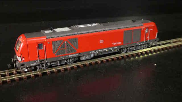 Diesellok BR247 904 Vectron DE Manne der DB