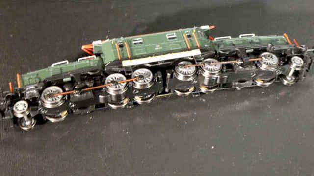 E-Lok BR1189.06 Krokodil grün der ÖBB