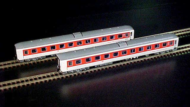 Personenwagen-Set CNL der DB AG