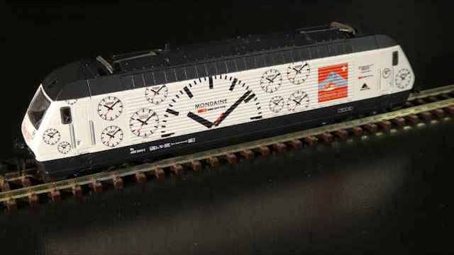 E-Lok SBB Re4/4 460 Mondaine