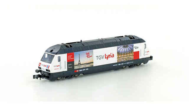 E-Lok SBB Re4/4 460 TGV Lyria