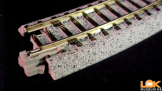 Gleis gebogen R315-45 grad 4 Stück