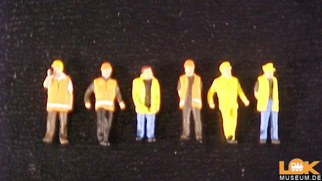 Arbeiter in Sicherheitskleidung