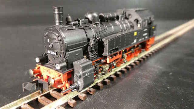 Dampflokomotive BR 94.5-17 der DR