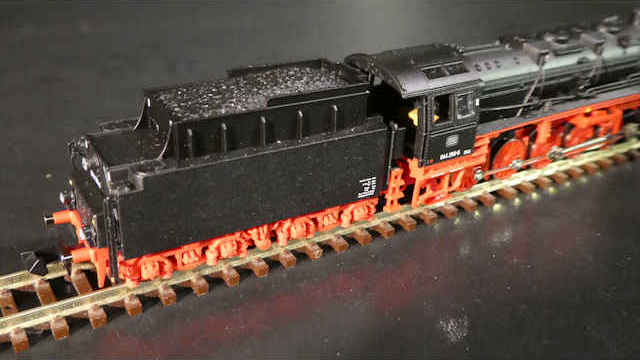 Dampflokomotive BR 044 der DB