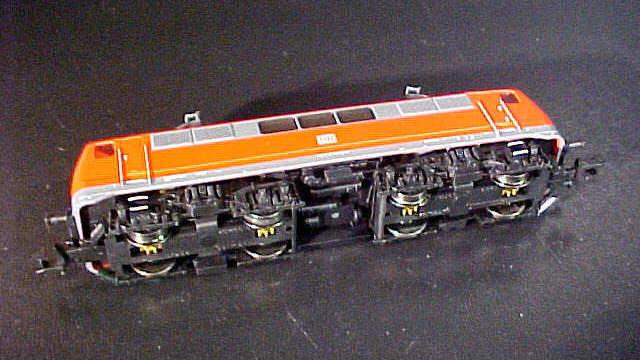 Elektrolokomotive BR 111 der DB AG