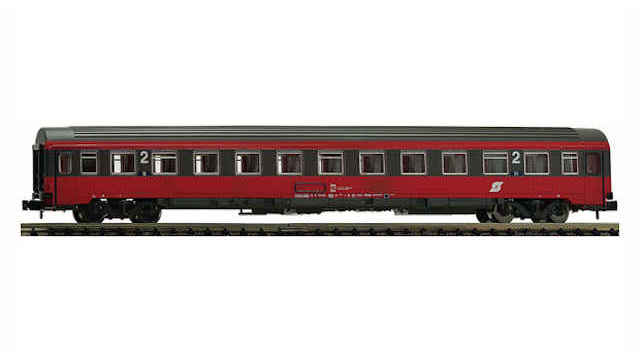 Eurofima-Wagen 2.Klasse der ÖBB
